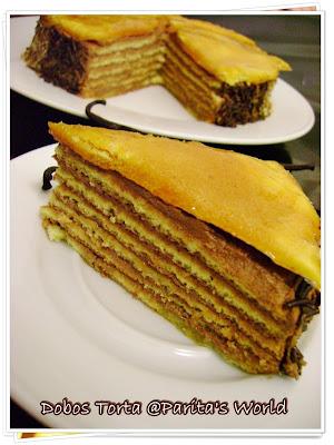 Dobos Torte Homemade