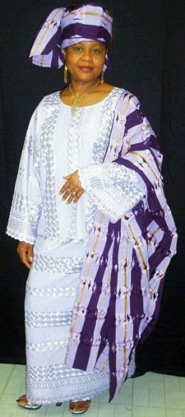 Glamorous Yoruba Nigerian Women Dress