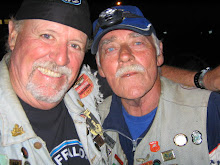 Two old biker scums