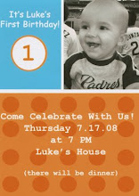 Our Grandson Luke Turning One !
