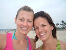 Becky and Emily on the Beach