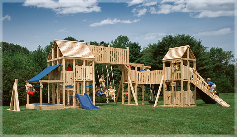 Custom Backyard Play Structures :  Backyard Playground Using Online Tools to Design Your Play Structure