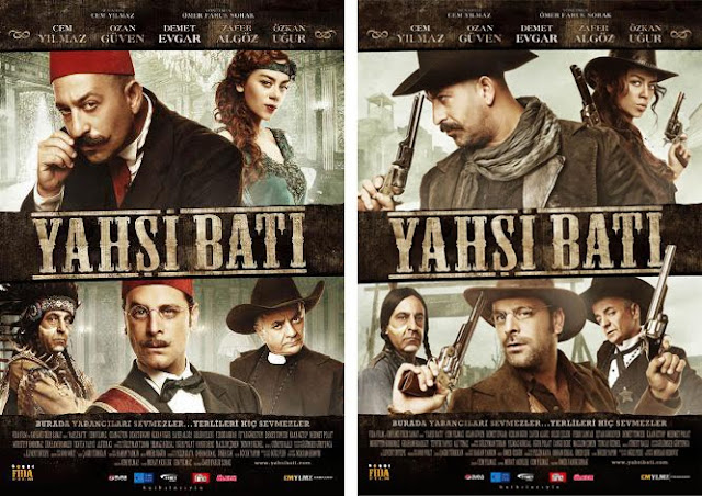 Posters of Turkish film Yahsi Bati.