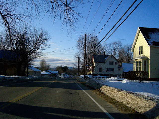 Neighbourhood in Laconia, New Hampshire.