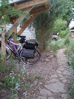 In Our Front Yard, The Urbanite Path Is The Only Way To Our Front Door, So  It Is A Wide, Gracious, Level (relatively), And Easily Negotiated Path ...