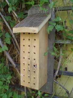 Diy mason bee house