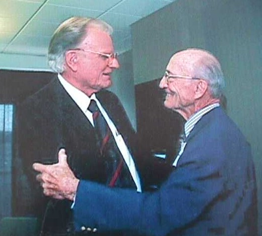 billy graham freemason. Dad and Billy Graham.