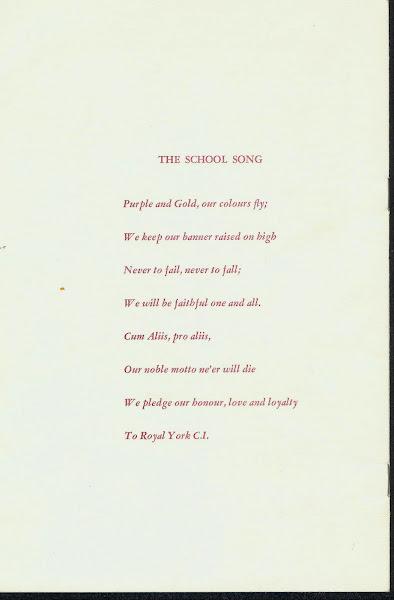 RYCI School Song
