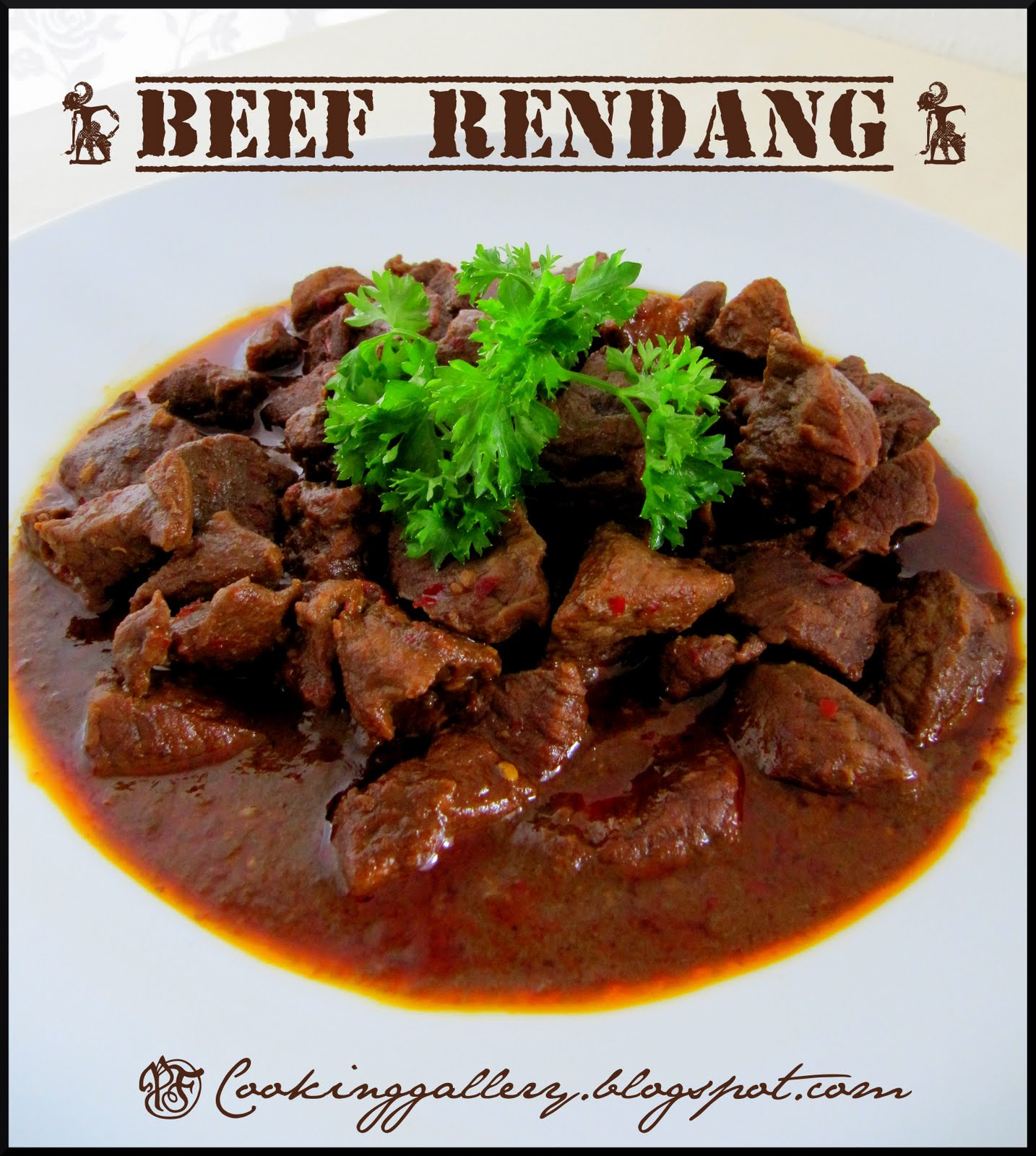 Beef Rendang | Cooking Gallery