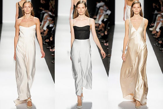 Carolyn bessette kennedy blog minimalist looks from for Narciso rodriguez wedding dress collection