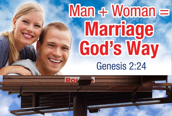 from Canaan gay marriage god