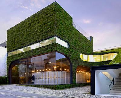 Hemat energi dengan arsitektur hijau