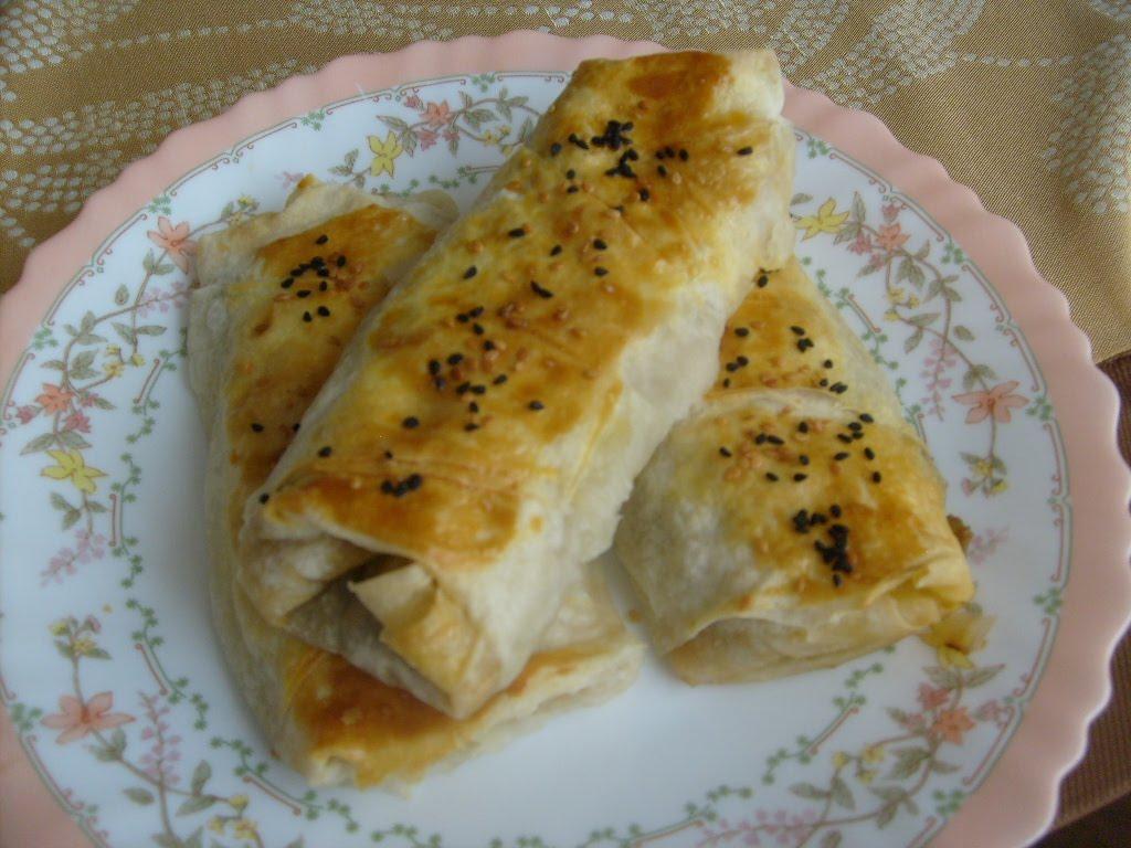 Domatesli Patlıcanlı Börek