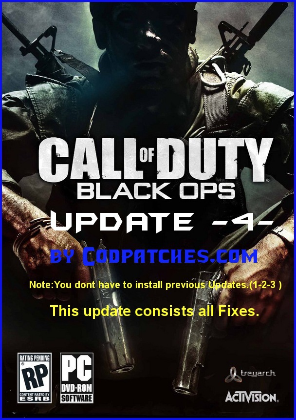 call of duty 8 modern warfare 3 release date. Call of Duty Black Ops Patch 4