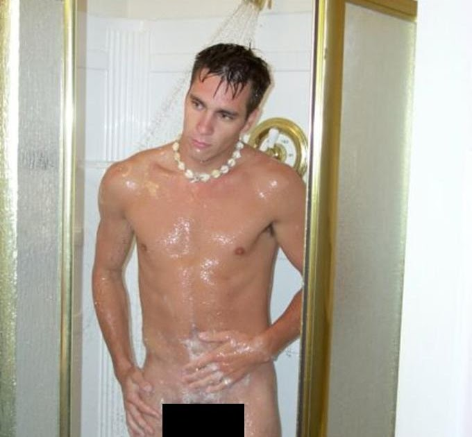 Censored Male Shower