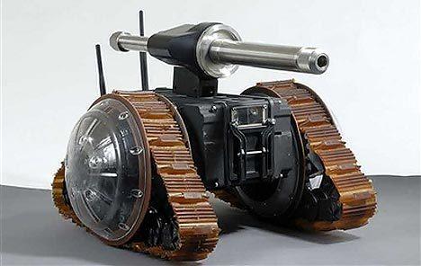 viper mini askeri robot