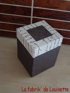 la fabrik 39 de louisette petite bo te coton tiges. Black Bedroom Furniture Sets. Home Design Ideas