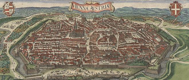 Historische Wienansicht 1640