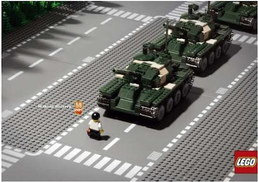 Lego tank by WOW Barbie