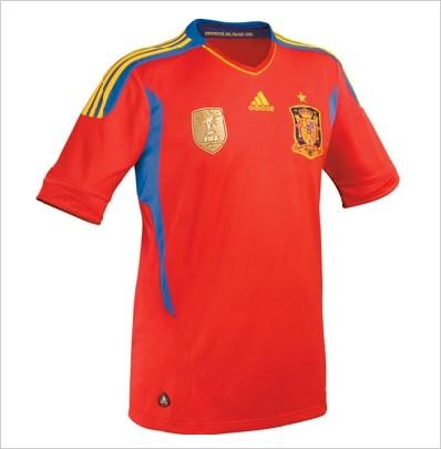 New T-shirts to 2010 FIFA World Champions