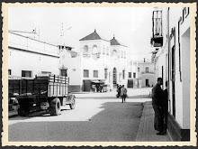 Calle Canónigo y plaza de Abastos, (circa 1970)