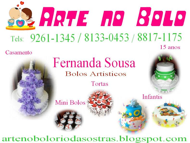 Arte no Bolo - Nanda's