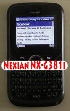 Nexian NX-G381i
