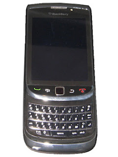 Blackberry Slider 2010