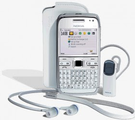 Nokia E72 white Edition
