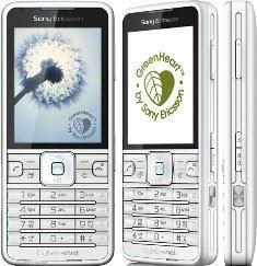 ony Ericsson C901 GREENHEART