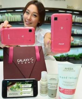 Samsung Galaxy S Femme