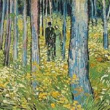 Dos Figuras en el Bosque