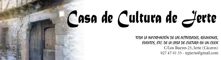 Casa de Cultura de Jerte