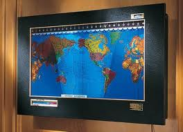 Yarone goren tinkering in the lab geoclock ambient world one of the partners had a really neat looking world map hanging on the wall of his office later i found out it was a geochron a special kind of world map gumiabroncs Image collections