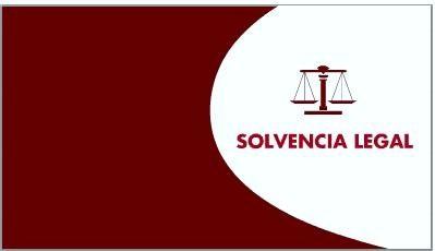 SOLVENCIA LEGAL - SALGA DE VERAZ EN 10 DIAS