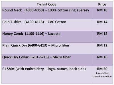 t Shirt Printing Price List Printing Price List