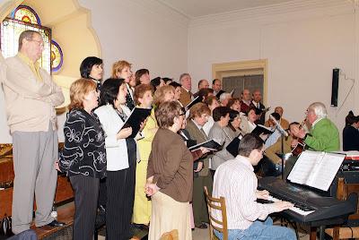 Eucaristía 21 de abril de 2007