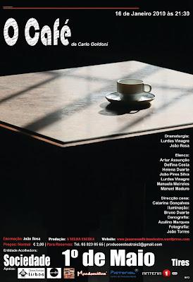 """""""O Café"""" de Carlo Goldoni"""
