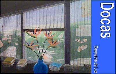 """Exposição """"Geometria da Luz"""", da autoria de Docas"""