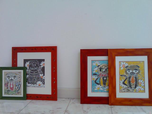 Montagem da Exposição de Marques Valentim e São Passos