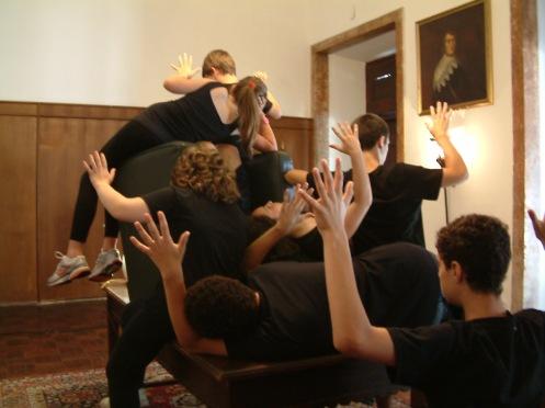 Workshop artes Performativas  - Férias de Natal para crianças/jovens