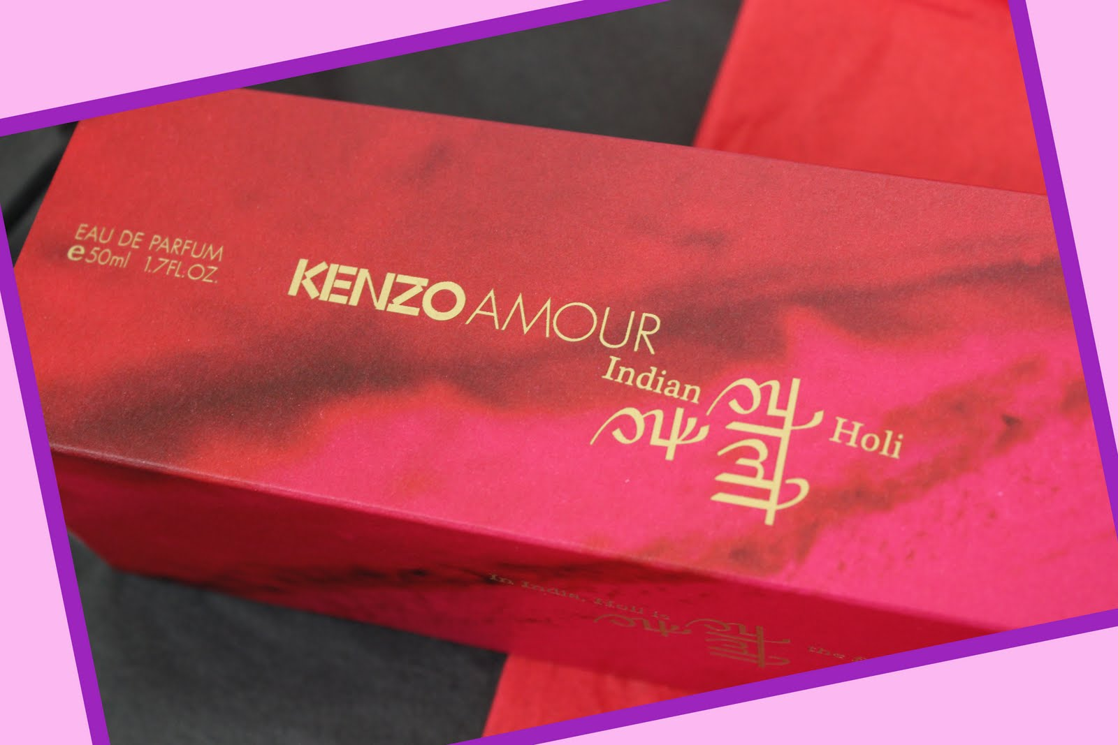 Sensory Expeditions- Journey to India with Kenzo Amour's Indian Holi