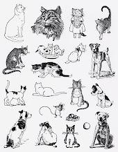 'PETS' stamp sheet