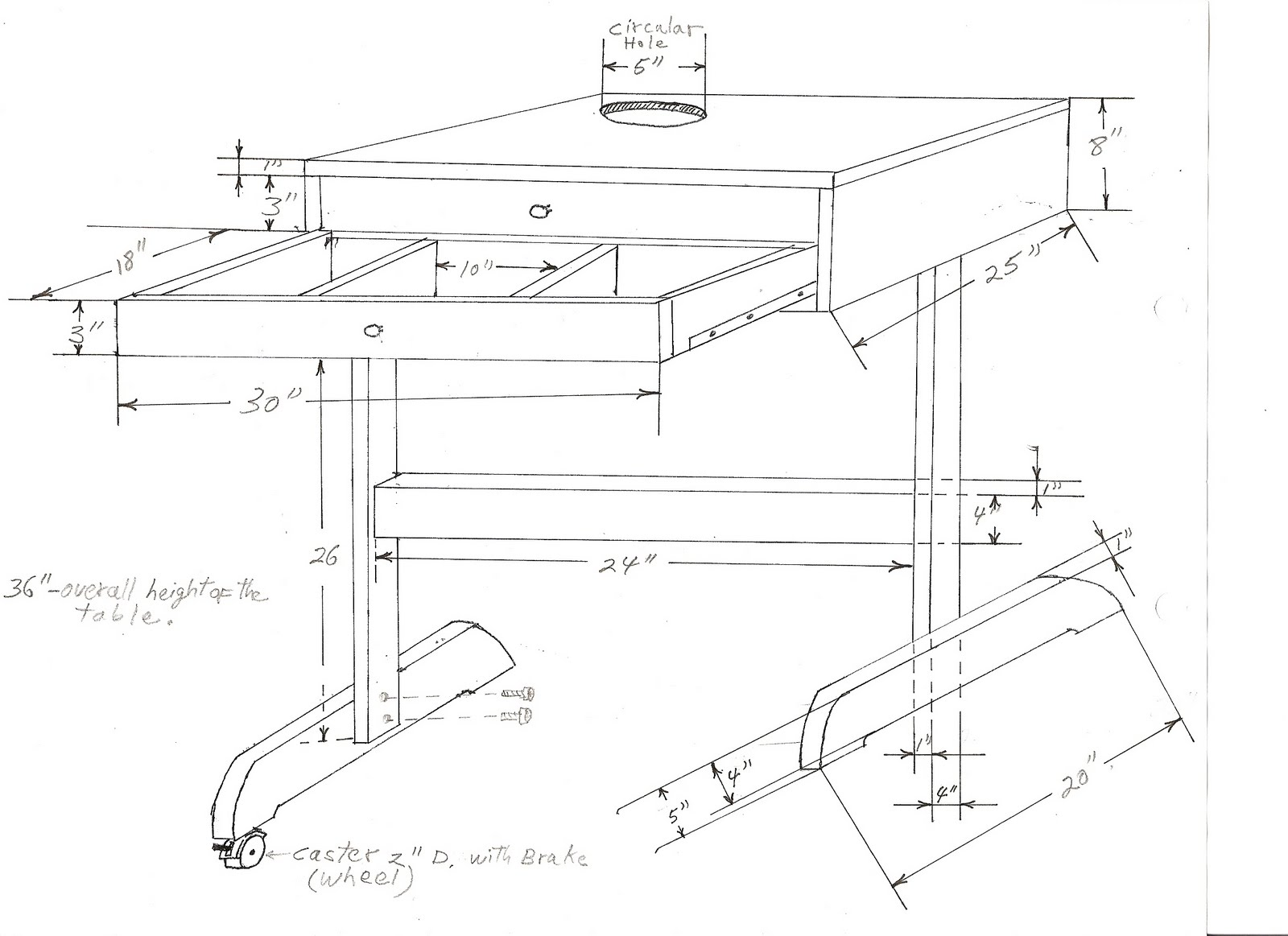 Furniture Technical Drawings Table Technical Drawing