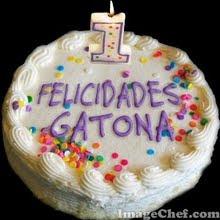REGALO DE  NANY, (EL BLOC DE GATONA CUMPLE UN AÑO!!!)