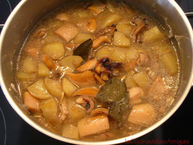 Cocina de siempre f cil y muy rica guiso de sepia con for Cocina facil y rica