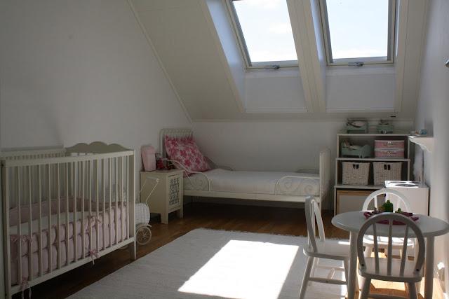 Jordbærpiken: barnerommet
