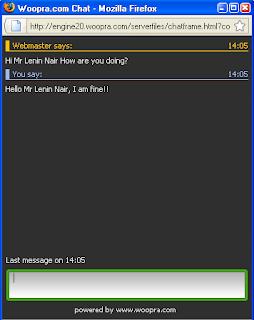 Woopra Live Chat