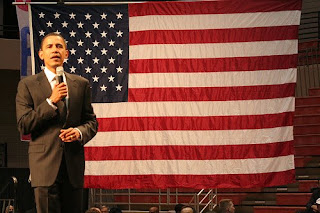 Barack Obama, the American President 2008