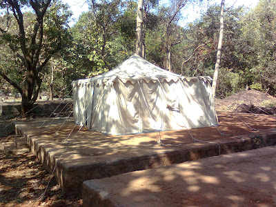 Phansad Wildlife Sanctuary - tent house